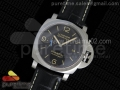 PAM1312 S ZF 1:1 Best Edition Black Dial on Black Leather Strap P9010