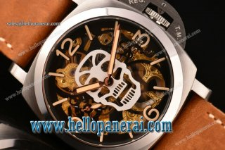 Panerai Luminor Marina 1950 3 Days Skeleton Dial Swiss ETA 6497 Manual Winding PAM 426