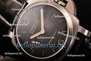 Panerai Luminor Marina 1950 3 Days SS Black Dial P.9000 Ref.PAM 312