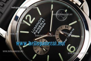 Panerai Luminor Power Reserve Steel Black Dial Ref. PAM 00171