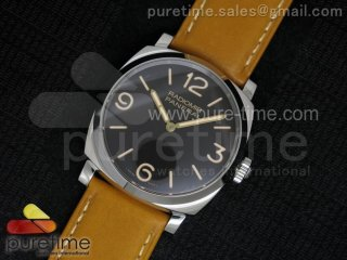 "PAM622 Q ""Tribute to Paneristi Russia"" V6F Best Edition on Brown Leather Strap A6497 V2"