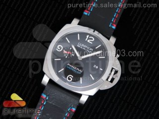 PAM727 T America's Cup ZF 1:1 Best Edidion on Thick Black Leather Strap P9010