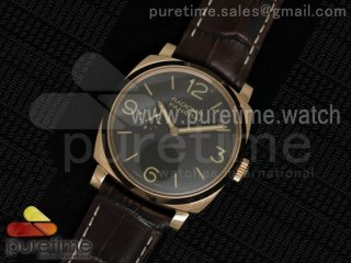 PAM572 Q V6F Brown Dial on Brown Leather Strap P2002
