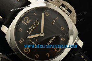 Panerai PAM359 Luminor Marina 1950 3 Days 1:1 Steel Case Black Dial A-7750
