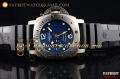 "Panerai Luminor Submersible ""Pole2Pole"" PAM 719 Blue Dial Black Rubber Steel Watch (KW)"