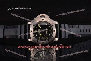 Panerai Luminor Submersible 1950 2500m 3 Days PAM 364 Black Dial Titanium Watch 1:1 Original (ZF)