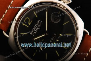 Panerai Radiomir 8 Days Pam 190 6497 Manual Winding SS/LE Black Watch