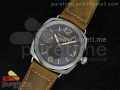 Radiomir Platino PAM521 P on Brown Asso Strap P.3000