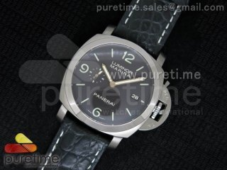 PAM351 P ZF 1:1 Best Edition on Black Leather Strap P9000
