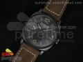 PAM532 P Radiomir 1940 3 DAYS PANERISTI FOREVER Black Dial on Brown Asso Strap A6497