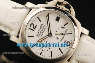 Panerai Luminor Power Reserve Pam 090 Automatic SS/White LE Watch