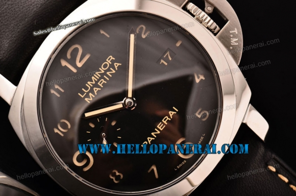 Panerai PAM359 Luminor Marina 1950 3 Days 1:1 SS Black Dial P.9000