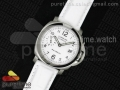 PAM049 F V6F 1:1 Best Edition White Dial on White Leather Strap A7750