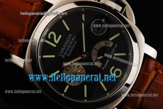 Panerai Luminor Power Reserve SS/LE Black Dial