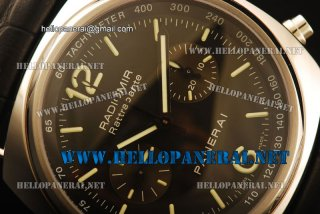 Panerai PAM 214H Radiomir 1:1 Original SS/LE Black 7750 Watch