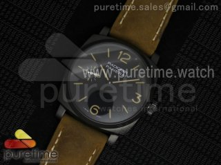 "PAM532 P ""PANERISTI FOREVER"" ZF 1:1 Best Edition on Brown Asso Strap P.3000 Super Clone"