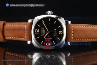 Radiomir 1940 3 Days GMT SS Black Dial - AST25