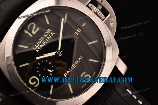 Panerai PAM312 Luminor Marina 1950 3 Days 1:1 Steel Case Brown Dial P.9000