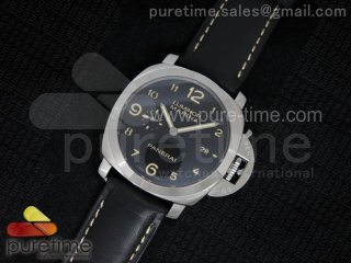PAM359 Q 1:1 Best Edition on Black Leather Strap ZP9000