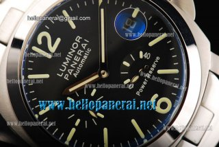 Panerai Luminor Power Reserve SS/SS Black Ref. PAM 00090