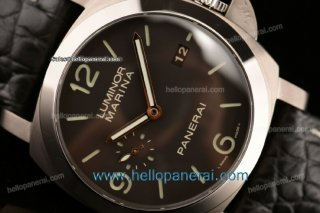 Panerai PAM00351 Luminor Marina 1950 3 Days 1:1 Original Ti Black Dial P.9000PAM00351