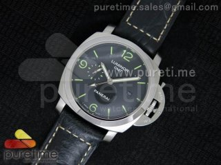 PAM312 M Lite on Black Leather Strap P9000