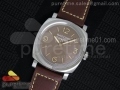 PAM662 R SF Best Edition on Brown Leather Strap P.3000 Super Clone
