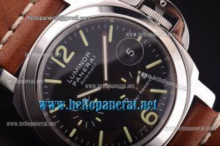 Panerai Luminor Power Reserve Pam 090 Automatic SS/Brown LE 1:1 Original