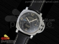 PAM1359 S V6F 1:1 Best Edition Lite on Black Leather Strap P9010