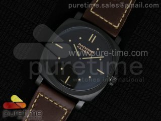 PAM577 R SF Best Edition on Thick Brown Leather Strap P.3000 Super Clone