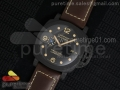 PAM661 Carbotech Lite V6F Best Edition on Brown Leather Strap P9010