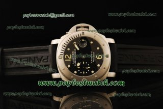 Panerai Luminor Submersible Regatta PAM199 Black Rubber Steel Watch PN000262