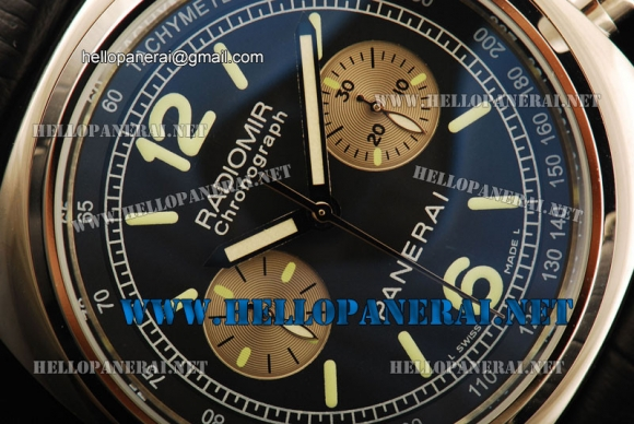 Panerai Radiomir PAM288 Automatic SS/LE Black 7750 Coating