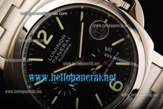 Panerai Luminor Power Reserve PAM 00090 SS/SS Black Dial