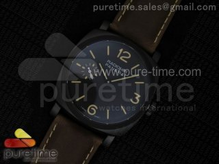 "PAM532 P ""PANERISTI FOREVER"" SF Best Edition on Brown Asso Strap P.3000 Super Clone"