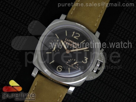 PAM423 P SF Best Edition Black Dial on Brown Asso Strap P.3000 Super Clone