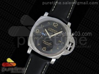 PAM1359 S V6F 1:1 Best Edition on Black Leather Strap P9010