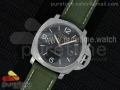 "PAM618 Q ""Hong Kong"" Lite V6F 1:1 Best Edition on Green Nylon Strap P9000"