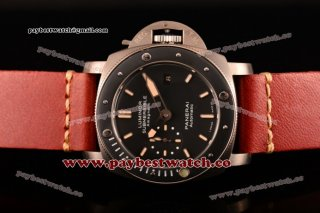 Panerai Luminor Submersible 1950's Amagnetic 3 Days Automatic Titanio PAM00389 Black Dial Titanium Watch