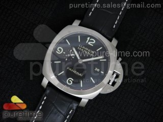 PAM312 P 1:1 ZF Best Edition on Black Leather Strap ZP9000