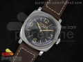 PAM587 Q V6F Best Edition on Thick Brown Leather Strap P.3000