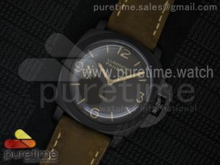 PAM375 N V6F Best Edition Brown Dial on Brown Asso Strap P3000