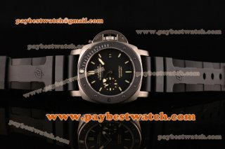 Panerai Luminor Submersible Amagnetic PAM00389 1:1 Original Black Dial Titanium Watch(Z)