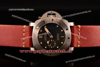 Panerai Luminor Submersible 1950 3 Days Automatic Ceramica PAM00305 Black Dial Yellow Markers Steel Watch