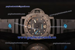 Panerai Luminor Submersible 1950 Carbotech PAM 616 Black Dial Carbon Fiber Watch 1:1 Original (KW)