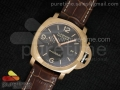 PAM393 P XL 44mm ZF Brown Dial on Brown Leather Strap ZP9000