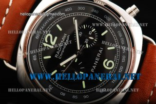Panerai Radiomir Chrono PAM 00214 Brown Leather