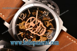 Panerai Luminor Marina 1950 3 Days SS Skeleton Dial Swiss ETA 6497 PAM 426
