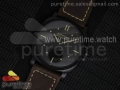 PAM577 P Radiomir 1940 3 DAYS V6F Black Dial on Brown Leather Strap P3000