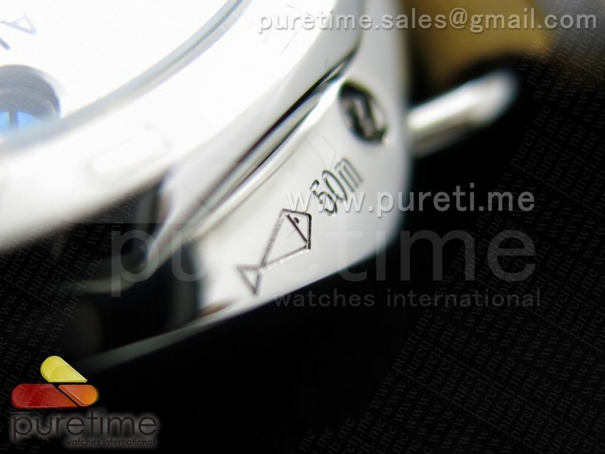 Radiomir Platino PAM521 P on Black Leather Strap P.3000